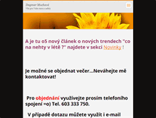 Tablet Preview of manikura-dagmar.webnode.cz